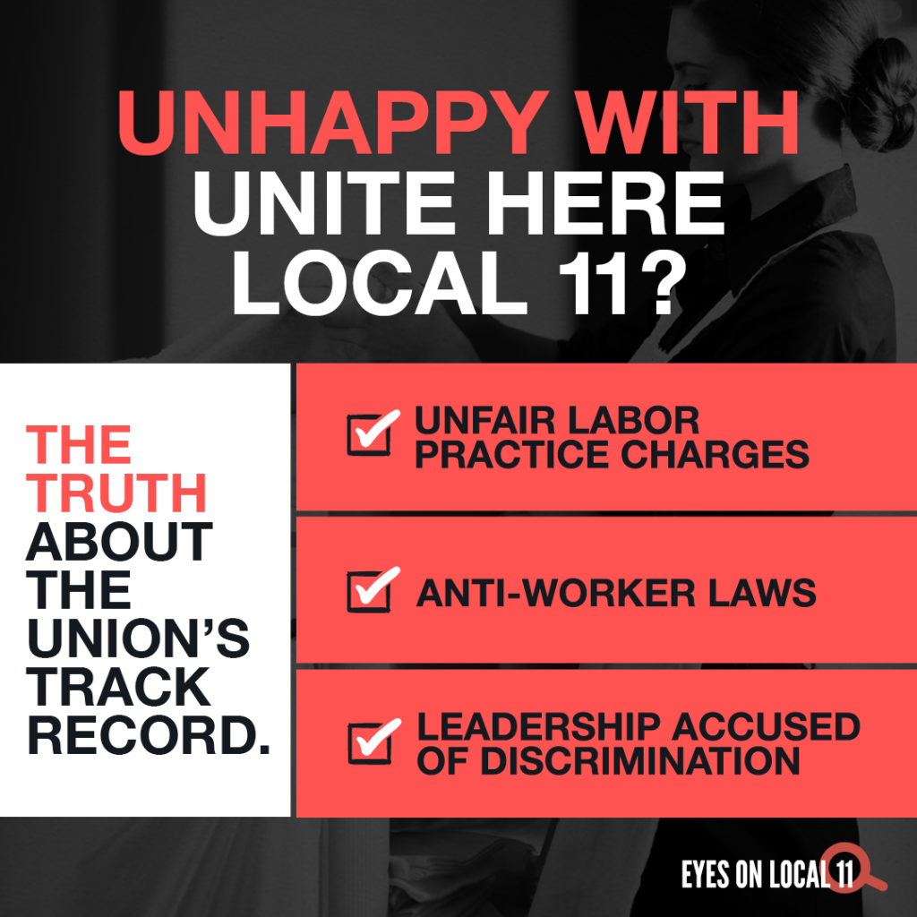 Mailer Calls Out Local 11's Bad Behavior